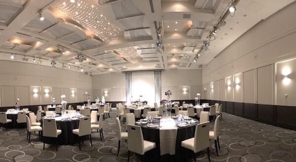 品川プリンスホテルの結婚式、披露宴会場2