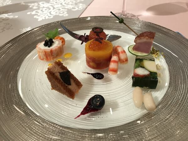 品川プリンスホテルの結婚式、試食