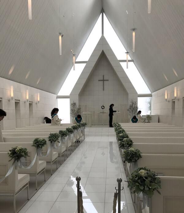 品川プリンスホテルの結婚式、ホワイトチャペル