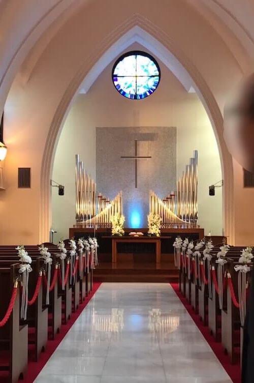 グランドヒル市ヶ谷結婚式場、チャペル