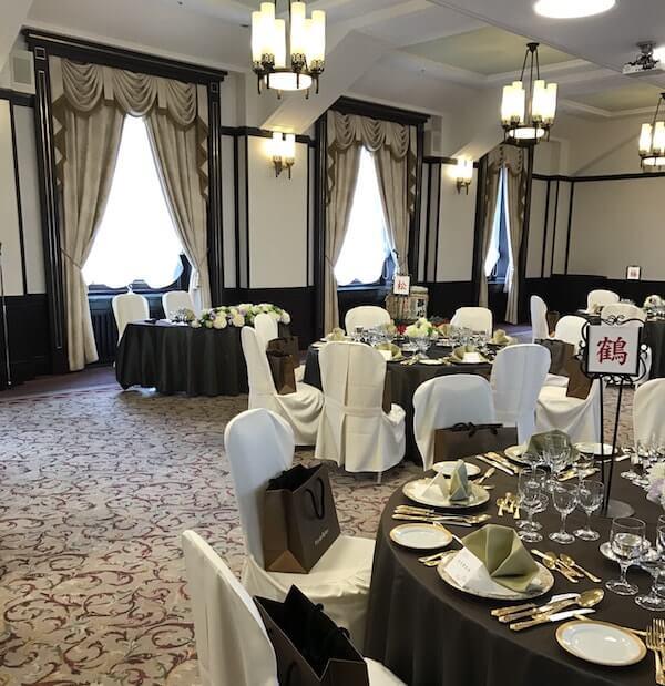 学士会館の結婚式会場201