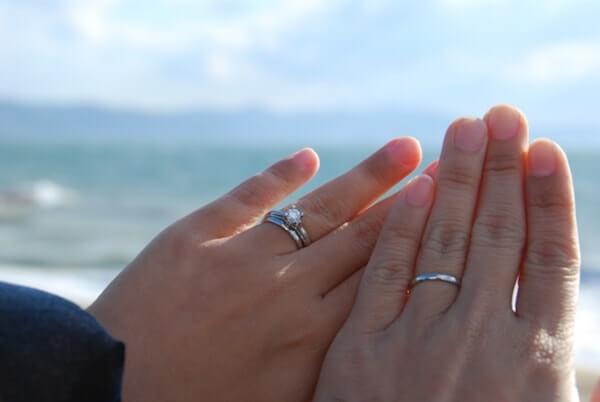 プラチナの結婚指輪に実際してみた感想