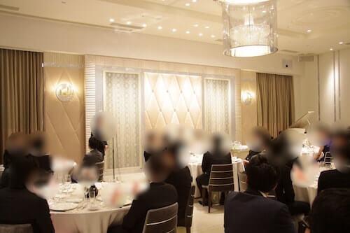 アニヴェルセルみなとみらい横浜の披露宴会場