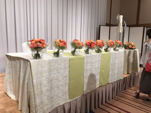 グランドアーク半蔵門結婚式の披露宴会場4