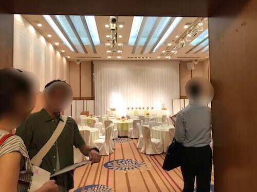 グランドアーク半蔵門結婚式の披露宴会場