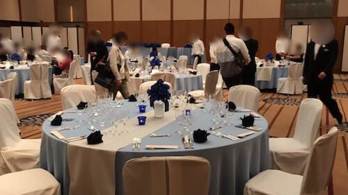 グランドアーク半蔵門結婚式の披露宴会場8
