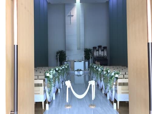 グランドアーク半蔵門結婚式の教会