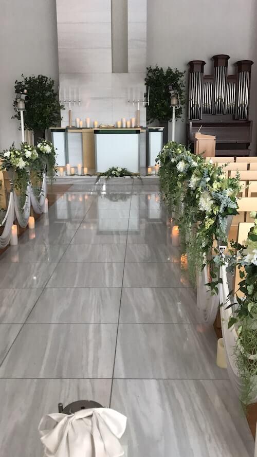 グランドアーク半蔵門結婚式のチャペル3
