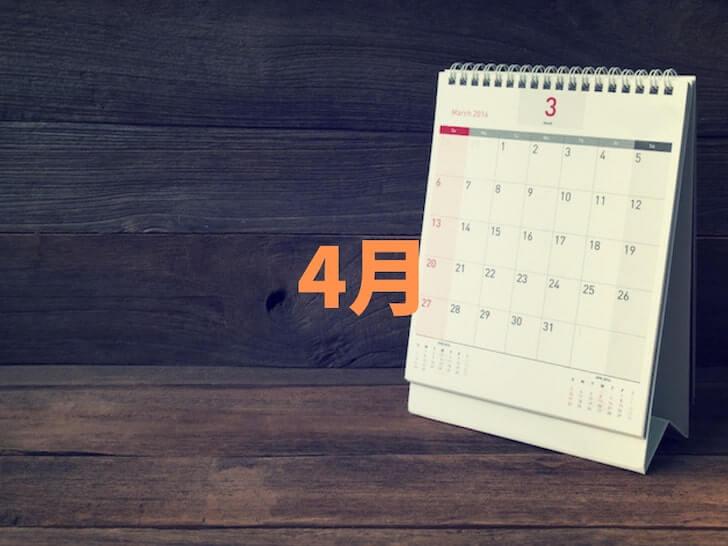 結婚式の人気月ランキング4月【多い時期】