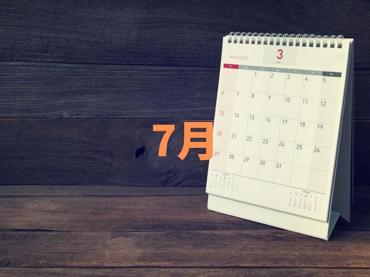 結婚式の人気月ランキング7月【多い時期】