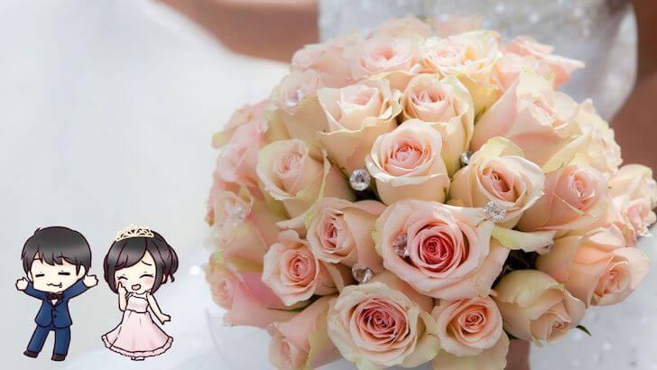 結婚式のブーケを生花にした理由